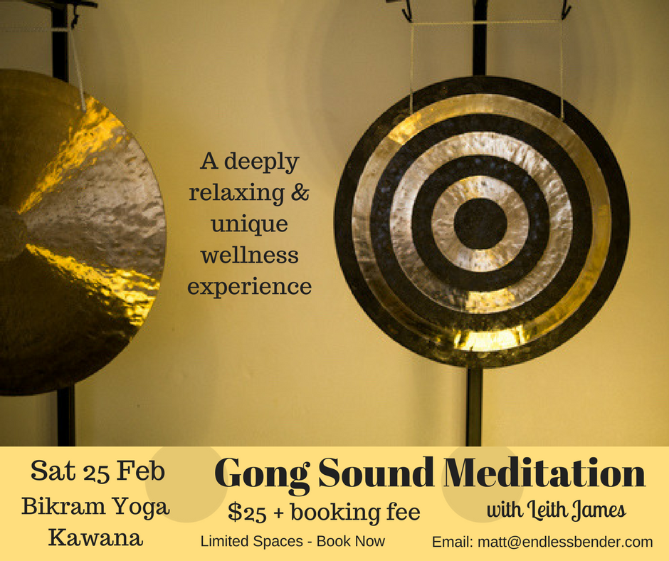 Gong Sound Meditation Event