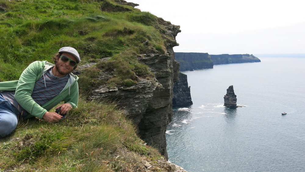 Breath, Lahinch slop & the Cliffs of Moher
